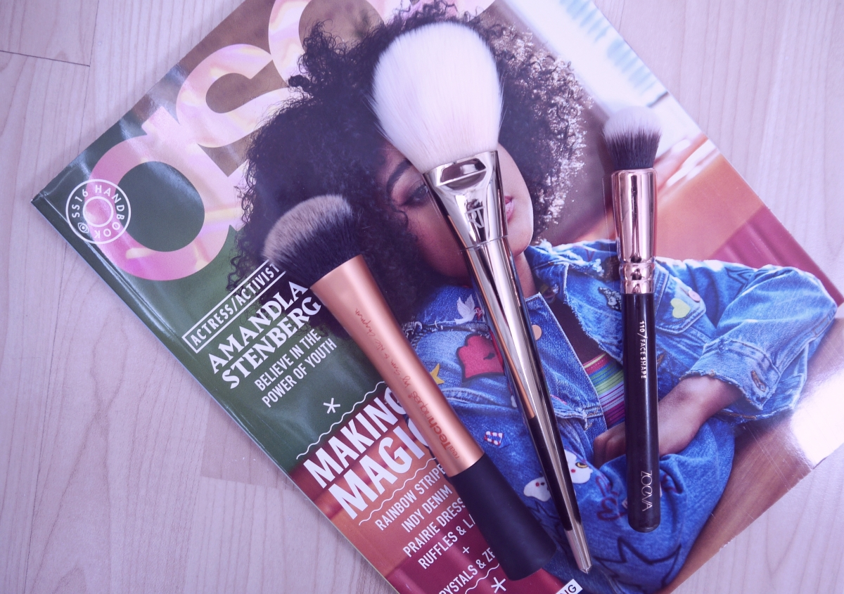 My Most Loved Makeup Brushes
